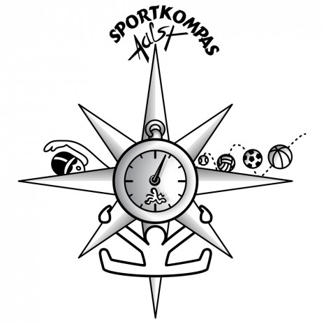 Vectorized Sportkompas logo.